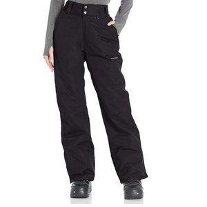 Arctix Women's Insulated Snow Pants, Black, XS T